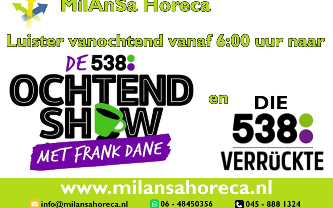 MilAnSa Horeca op de radio!